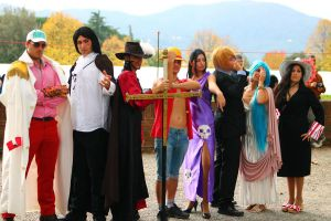 One Piece Group III Lucca _2012 by Cosmy-Milord