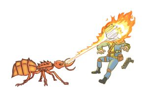 Fallout Fire Ant by contchi