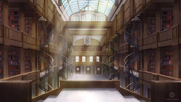 Caffeine: Library by ExitMothership