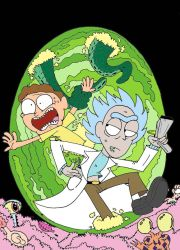 Rick and Morty by SuperBails2016