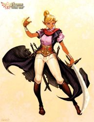 Tetra - Hyrule Total War by GENZOMAN
