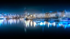 'Harbourside over the night' by FunkyBah
