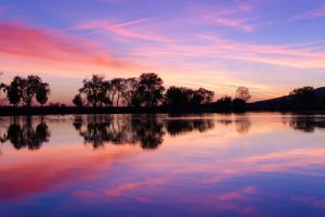 Sunset Symmetry by BuuckPhotography