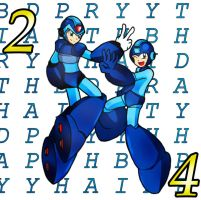 Happy 24th birthday Mega Man by SaitoKun-EXE