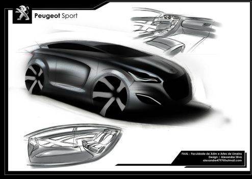 Peugeot Sport Concept by alexandredesign