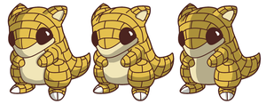 Pokemon 27 - Sandshrew