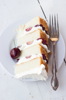Almond Cake with Toasted Rice Buttercream by bittykate