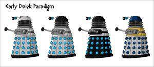 Early Dalek Paradigm by VoteDave