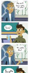 WK- Glass Of Ice (Comic) by heart2bpr