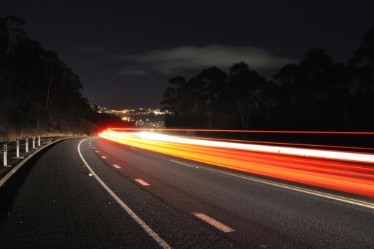 Traffic rushing home by Kittycatpryde