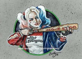 Suicide Squad - Harley Quinn (2015) by scotty309