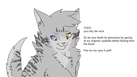 Dovewing- True eye color by Skatland
