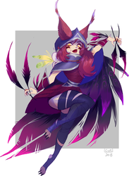 Xayah by rringabel