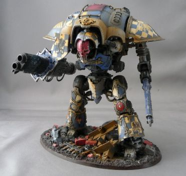 Imperial Knight (Blue) 2 by Rogue428