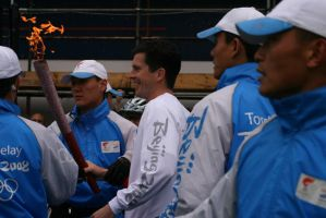 Olympic Torch - Tim Henman by wackymanda