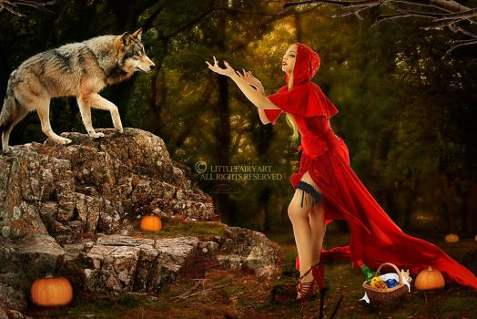 Red riding hood by LittleFairyArt