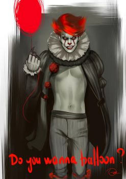 Pennywise. Dancing Clown by Ozarielle