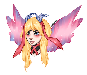 Pink Mercy by rebbybear