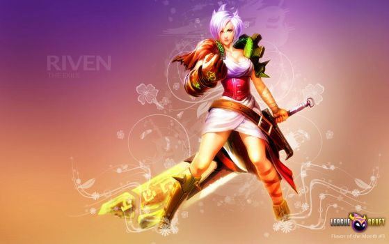 Riven, the Exile by K4tEe