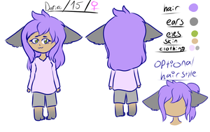 Daria Ref Sheet by Cries-In-Russian