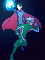 Wiccan and Speed by WaterElement33