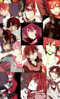Akaito Shion Collage by ThatWeirdHetalian