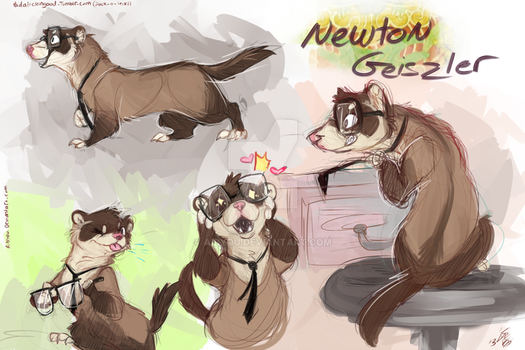 Ferret Newt by Aibyou