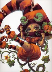 Pumpkin Girl by Rizumu-Team