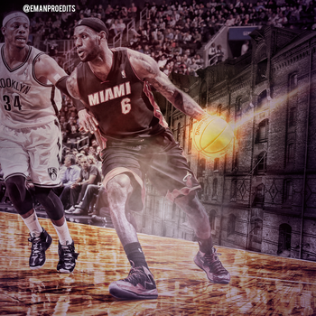 LeBron James by emanproedits