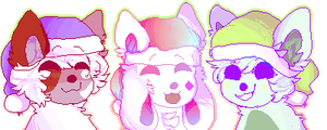 (icons) christmas fam by ghostcrush