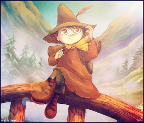 SNUFKIN:Home Is WhereTheWay Is by Kaoyux
