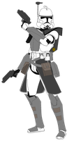 Arc Trooper Phase 2 by FBOMBheart