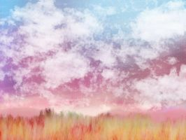 Colorful Fields by Okowi