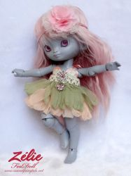 BJD Feadoll tiny zelie by Nailyce
