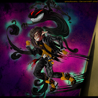 Drake the shadowmancer by ginkoflowers