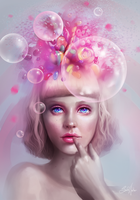 One thing on her mind by SandraWinther