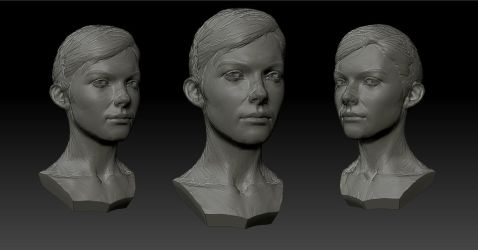 Zbrush practice (updated) by Monstrick