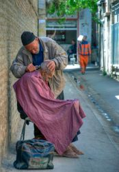 The old barber by amirskip4life