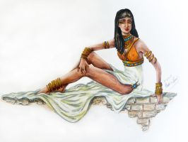 Egyptian Princess by stargate4ever23
