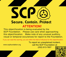 SCP Warning Sign by Neutron-Quasar