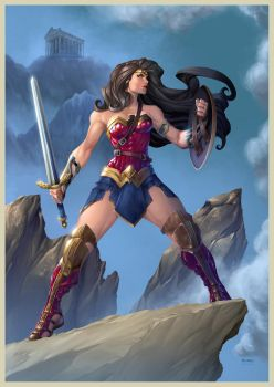 Wonder Woman Painted by mikebowden