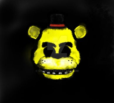 [FNAF FAN ART] Golden Freddy by SwynArt