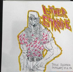 LUTHER STRODE SKETCH by Zero-Mecha