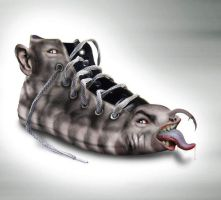 ALIEN SHOE by kungfuat