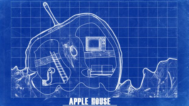 -- Apple house -- by 0l-Fox-l0