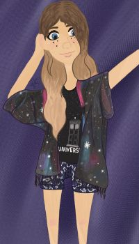 Galaxy OOTD by GinaTheTaco