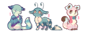 feral adopt set [CLOSED] by hunniebuzz