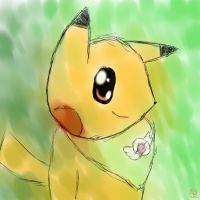 Pikachu tablet by Ludichat
