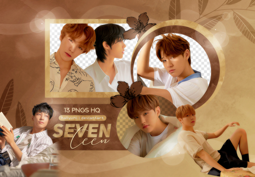 PNG PACK: SEVENTEEN (You Make My Day 'Meet' Ver.) by Hallyumi