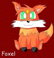 Foxel Colored by Pikacshu